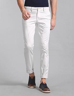 GAP Washwell Vintage Wash Khakis In Skinny Fit With Gapflex