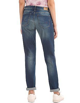 Aeropostale Skinny Fit Distressed Jeans