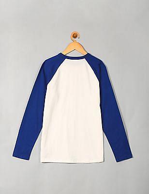 GAP Boys Raglan Sleeve Logo T-Shirt