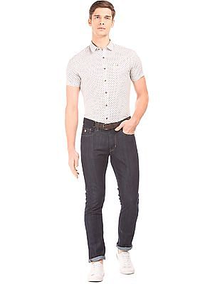 U.S. Polo Assn. Denim Co. Paisley Print Slim Fit Shirt