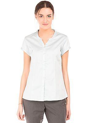 Arrow Woman Short Sleeve Princess Panel Shirt