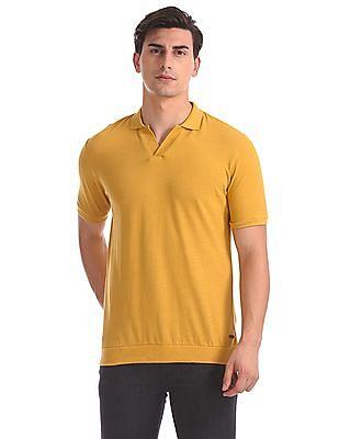 Cherokee Regular Fit Solid Polo Shirt