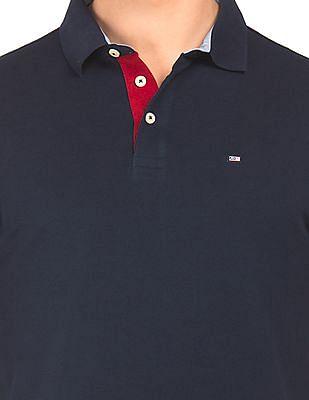 Arrow Sports Regular Fit Long Sleeve Polo Shirt