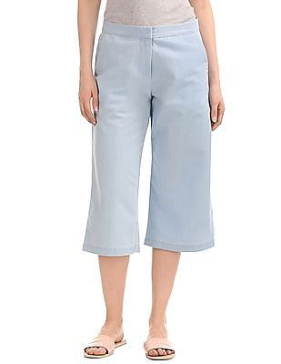 SUGR Solid Cotton Culottes