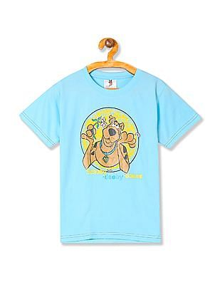 Day 2 Day Boys Scooby -Doo Print Crew Neck T-Shirt