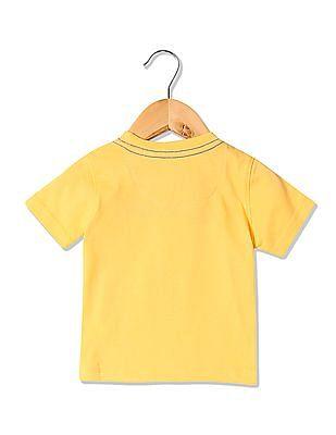 Colt Boys Appliqued Short Sleeve T-Shirt