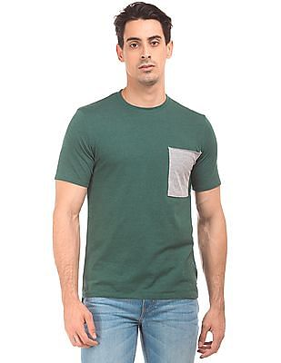 Colt Contrast Pocket Crew Neck T-Shirt