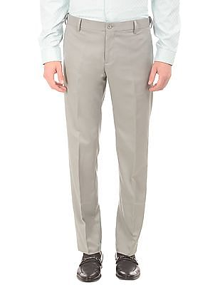 Excalibur Solid Flat Front Trousers