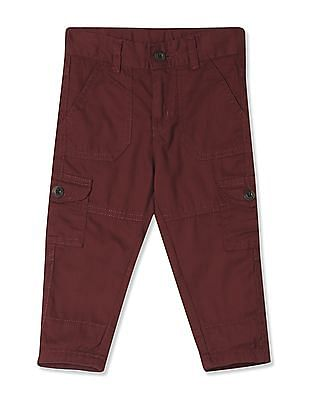 Donuts Boys Solid and Panelled Cargos