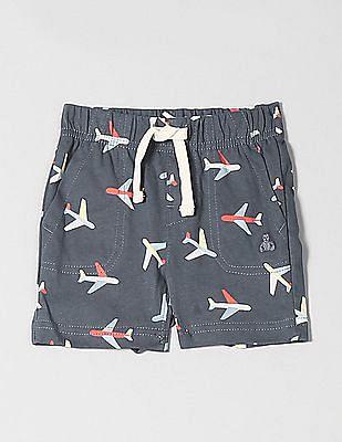 GAP Baby Print Pull-On Shorts