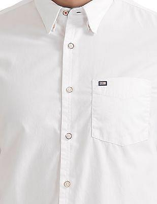 Arrow Sports Slim Fit Button Down Shirt