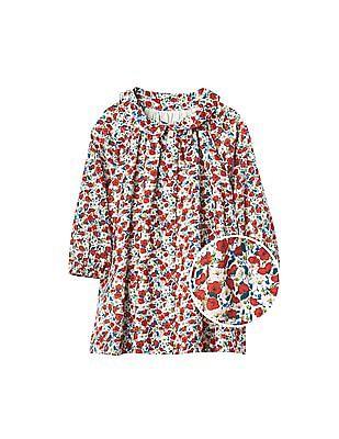 GAP Baby Red Poppy Collared Dress
