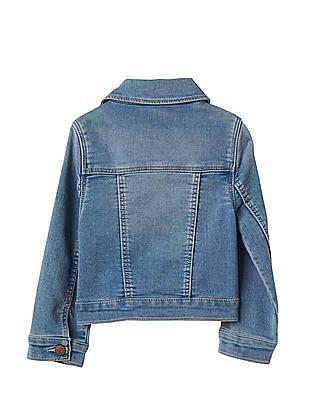 GAP Baby Supersoft Knit Denim Jacket