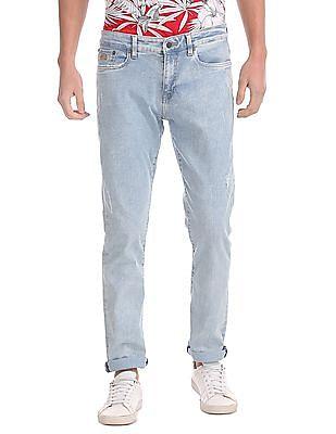 Aeropostale Skinny Fit Bleached Jeans