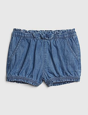 GAP Baby Denim Bubble Shorts