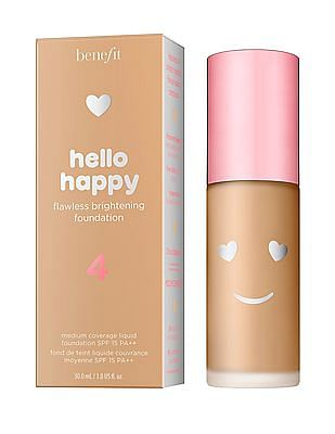 Benefit Cosmetics Hello Happy Flawless Liquid Foundation - Shade 04