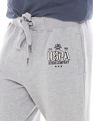 U.S. Polo Assn. Denim Co. Melange Vintage Wash Track Pants