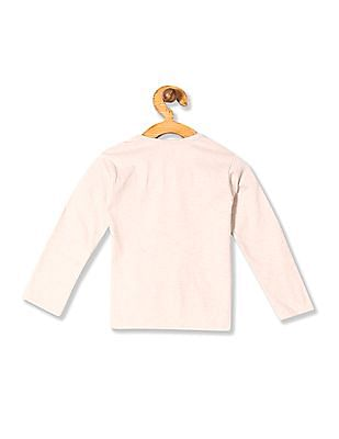 Donuts Girls Long Sleeve Printed T-Shirt