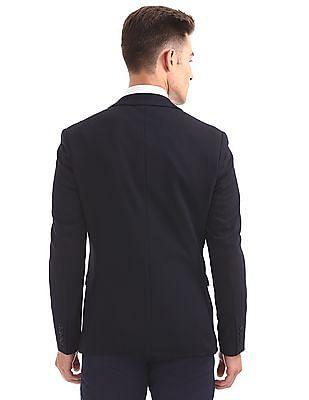 Arrow Slim Fit Textured Blazer