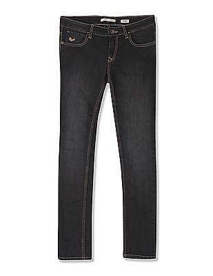 Flying Machine Women Slim Fit Stone Wash Jeans