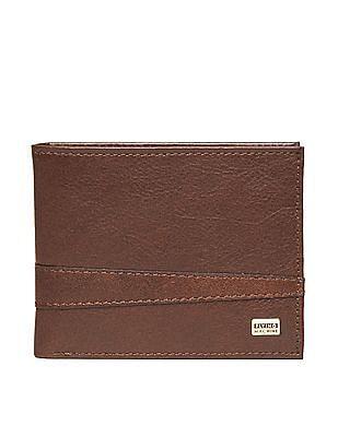 Flying Machine Grained Leather Bi-Fold Wallet