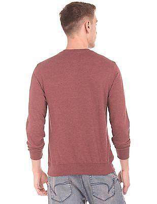 Colt Distressed Print Crew Neck Sweatshirt