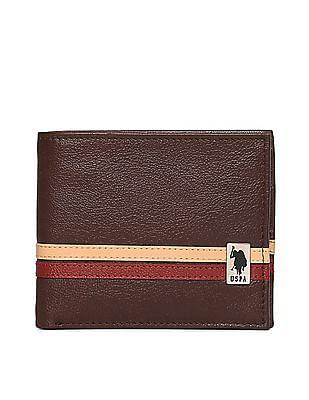 U.S. Polo Assn. Contrast Panel Bi-Fold Wallet