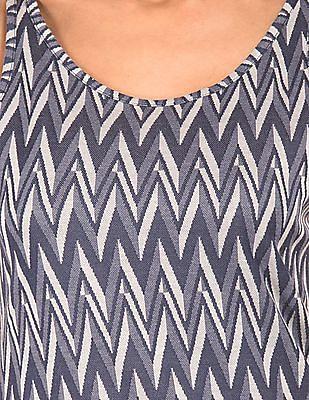 EdHardy Women Chevron Weave Tank Top