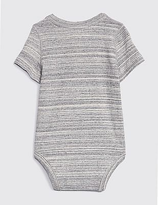 GAP Baby Henley Short Sleeve Bodysuit