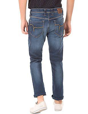 Flying Machine Stone Wash Skinny Jeans