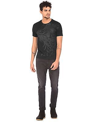 Ed Hardy Graphic Print Slim Fit T-Shirt