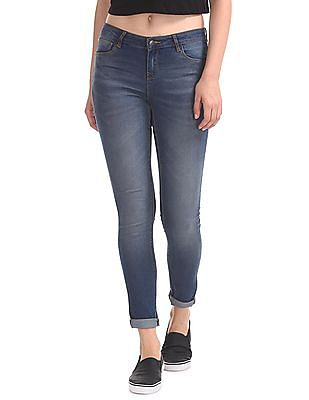 Cherokee Skinny Fit Stone Wash Jeans