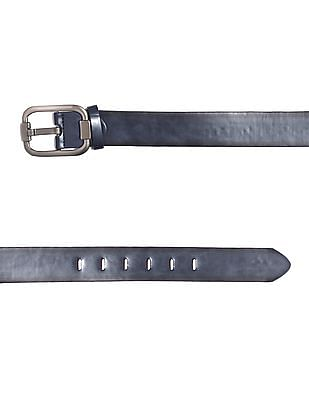 Colt Black Metallic Buckle Belt
