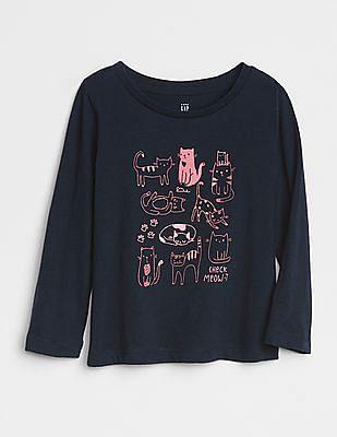GAP Baby Graphic Long Sleeve T-Shirt