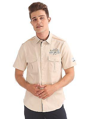 Nautica Short Sleeve Baja Shirt