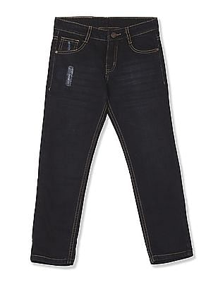 Cherokee Boys Slim Fit Distressed Jeans
