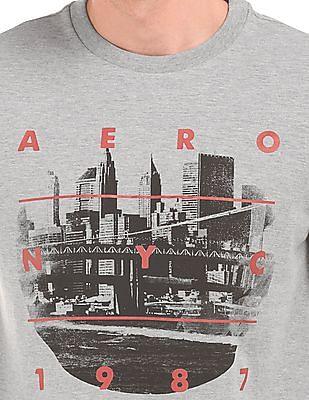 Aeropostale Graphic Print Round Neck T-Shirt