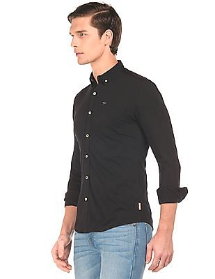 Flying Machine Slim Fit Knit Shirt