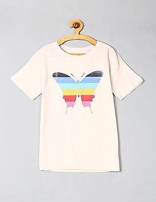 GAP Girls Graphic Short Sleeve Tunic