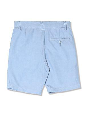 Cherokee Boys Solid Cotton Shorts
