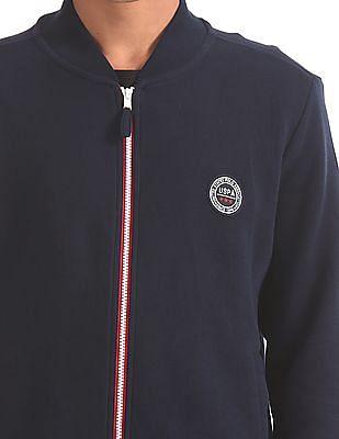 U.S. Polo Assn. Regular Fit Zip Up Sweatshirt