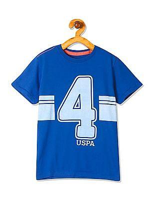 U.S. Polo Assn. Kids Boys Standard Fit Printed T-Shirt