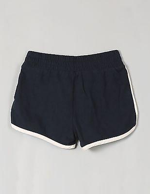 GAP Girls Blue Terry Dolphin Shorts