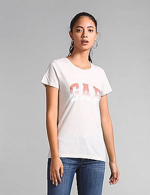 GAP Short Sleeve Logo Graphic T-Shirt