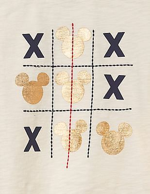 GAP Baby Disney Baby Mickey Mouse And Minnie Mouse Graphic Tee