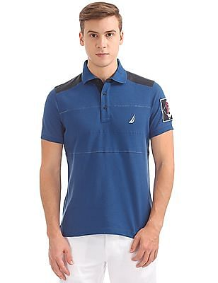 Nautica Short Sleeve Heritage Polo