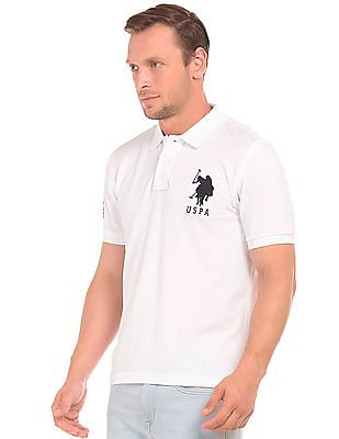 U.S. Polo Assn. Slim Fit Applique Polo Shirt