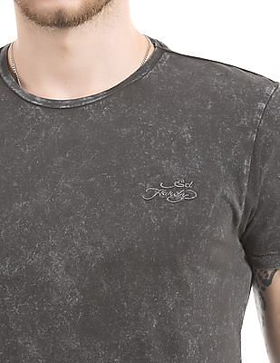 Ed Hardy Regular Fit Washed T-Shirt