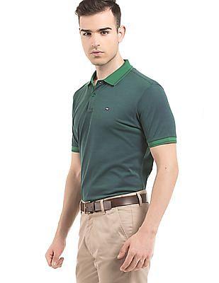 Arrow Sports Contrast Collar Regular Fit Polo Shirt