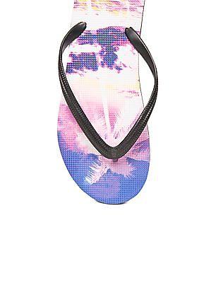 Aeropostale Printed Flip-Flops